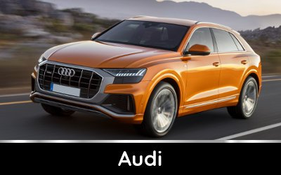 Brands available from TysonCooper - Audi discounts