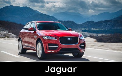 Brands available from TysonCooper - Jaguar discounts