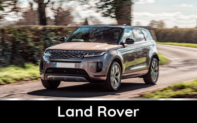 Brands available from TysonCooper - Land Rover discounts