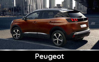 Brands available from TysonCooper - Peugeot discounts