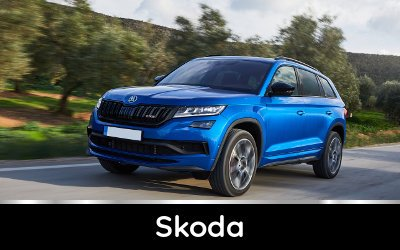 Brands available from TysonCooper - Skoda discounts
