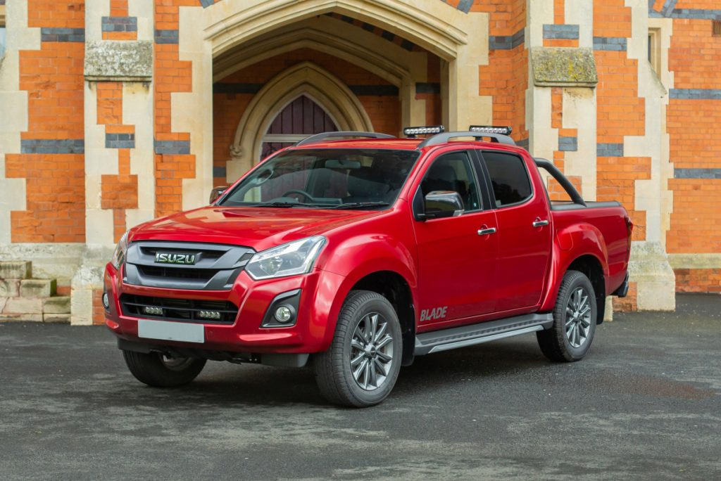 Isuzu pickup now available with RICS discount